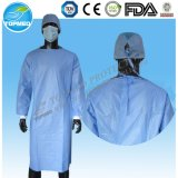 Robes chirurgicales remplaçables de docteur Use Operation Gowns Hospital de fournisseur d'usine