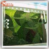Hot Sale Unique Design Artificial Plant Wall Plastic Grass