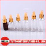 bouteille en plastique ronde cosmétique de l'animal familier 70ml avec le compte-gouttes en métal (ZY01-B014)