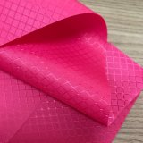 Diamant-Type tissu imperméable à l'eau enduit du jacquard 200d d'Oxford de trellis