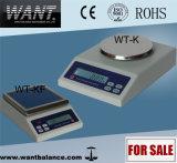 escala de peso desktop de 1000g 0.1g com ISO do Ce