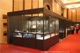 Cabina de cristal plegable negra para la cabina del comercio justo