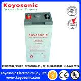 batterie terminale d'avant de cinq ans de garantie pour la batterie d'acide de plomb des télécommunications 12V