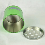 Zinn-Aschenbecher, Zinn-Kasten, Metallkasten