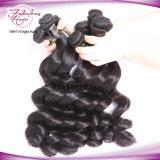 Уток человеческих волос надкожицы наградных малайзийских сырцовых волос Remy полный