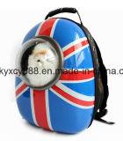 Trouxa do saco de portador do cão de animal de estimação do ombro do dobro do PC da qualidade (CY3585)