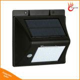 النسخة الجديدة 20 المصابيح الخفيفة للطاقة الشمسية في الهواء الطلق مع استشعار الحركة الشمسية مصابيح للماء لحديقة مصباح الأمن