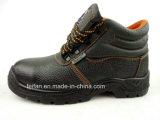 Улучшайте ботинки безопасности конструкции и высокого качества кожаный
