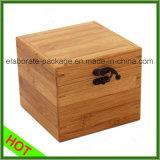 Cadre fabriqué à la main en bois réel initial de qualité de caisse d'emballage de bijou