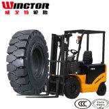 5.00-8 Pneus Solidos, pneu contínuo industrial 5.00X8 do Forklift
