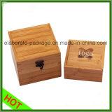Caixa Handmade de madeira real original da alta qualidade da caixa de embalagem da jóia