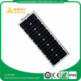 Fabrik-Angebot 60W alle in einem Solarstraßenlaternemit Bescheinigung IP65 3 Jahre der Garantie-Lifo4 Batterie-