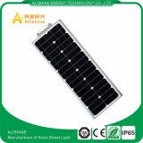 Factory Supply 60W All-One Solar Street Light avec certificat IP65 Garantie de 3 ans Lifo4 Battery