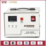 Estabilizador del voltaje la monofásico con la visualización del contador de la visualización de la entrada-salida