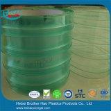 U.V ESD van de Weerstand het Groene Flexibele Dubbele Geribbelde VinylGordijn van de Strook van de Deur