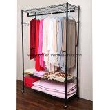 Шкаф одежды шкафа яруса DIY 3 черный с колесами