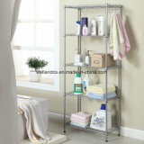 NSF Chrome réglable Triangle Metal Corner Wire Shelf Rack