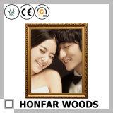 France contratou o frame de retrato de madeira requintado do estilo para a decoração Home