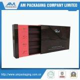 El chocolate caja de embalaje de dos cajones pieza y con la manga de papel divisor del mobiliario Insertar