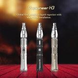 Factor de venta del cigarrillo electrónico de Shisha de la cachimba de Vapioneer H3 el nuevo con la instalación del filtro hace fumar más sano