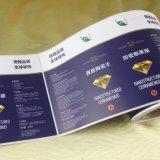 Escritura de la etiqueta auta-adhesivo de encargo de la etiqueta engomada de la impresión de la alta calidad