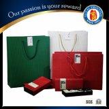 선전용 서류상 선물 부대, 브라운 Kraft 종이 봉지, 단화 & 의복 운반대 부대, 가게