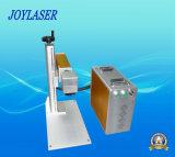 máquina de grabado portable del laser de la fibra 30W para el corte del oro