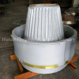 Хламида износа дробилки и запасных частей и вкладыш шара
