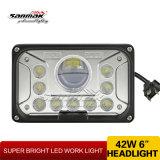 """Faro di 42W LED dell'indicatore luminoso di funzionamento 7 del faro di Sanmak """" per fuori strada"""