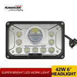 "Linterna de 42W LED de la luz de trabajo 7 de la linterna de Sanmak "" para campo a través"