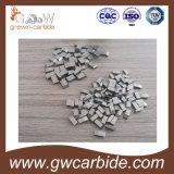 O carboneto de tungstênio de Yg6/Yg6X viu pontas para a estaca de madeira