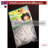 Presente do Natal das tranças das faixas de borracha dos elásticos do cabelo o melhor (P3021)