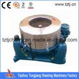 Extrator da máquina da lavanderia o hidro (SS) 500kg molhou o ISO da tela & o CE