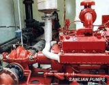 Bomba de /Water /Centrifugal da sução dobro/incêndio (CPS)