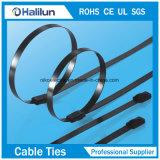 Atadura de cables de autoretención revestida del acero inoxidable del epóxido al por mayor del sujetador