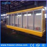 Réfrigérateur en verre de porte de grande boisson de capacité de supermarché avec le compresseur célèbre
