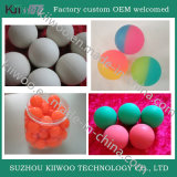 China fabrica bolas de salto de borracha de silicone