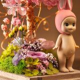 Il modo promozionale ha conservato il fiore per il regalo del biglietto di S. Valentino di natale