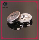 Имитационное золото застегивает кнопки отверстий черноты 4