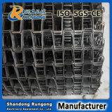 Fábrica em ferradura da correia transportadora do fio do aço inoxidável