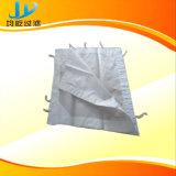 Tessuto filtrante del poliestere dello zinco del carbone del rame del minerale ferroso di filtrazione di estrazioni minerarie per la filtropressa