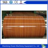 La hoja de acero galvanizada prepintada en las bobinas/color cubrió las bobinas de acero/PPGI