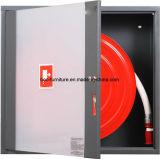 Gabinete de carretel de mangueira de fogo metálico com porta de aço ou porta de vidro
