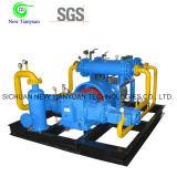 compresor de relleno del cilindro de gas del nitrógeno de la presión de funcionamiento 5MPa