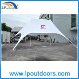 10X14m doppeltes Gazebo-Stern-Zelt für Farbton Sandbeach