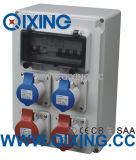 Пластичные электронные приложения с гнездом IP44 415V 32A 3pin