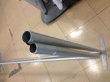 visualización expresa del soporte de la demostración de la visualización de la bandera del marco del tubo del aluminio de los 6FT