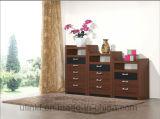 Tipo gabinete de madeira da mobília da sala de visitas da antiguidade (HX-LS009)