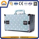 Случай случая состава перемещения кожи PU прикрепленный багажом (HB-6301)