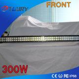 Barra clara Offroad do diodo emissor de luz da iluminação de condução 300W do carro das peças de automóvel do CREE